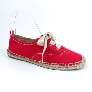 Kate Spade Lina Espadrille Oxford Red